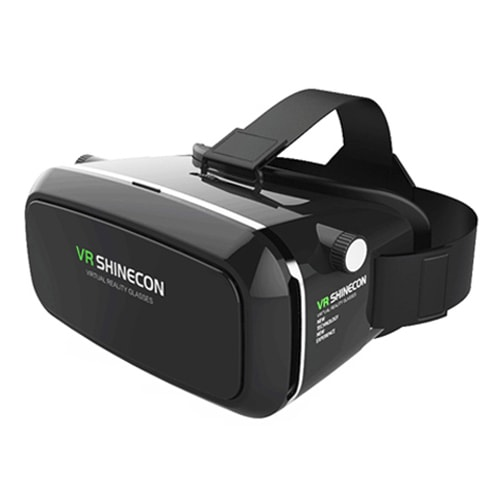Очки виртуальной реальности VR ShineconОчки Shinecon<br>Если раньше аттракцион виртуальной реальности был доступен людям только в развлекательных центрах, то теперь перевоплотиться в любого персонажа и получить настоящую феерию эмоций можно и дома, благодаря инновационным очкам виртуальной реальности VR Shinecon!<br>