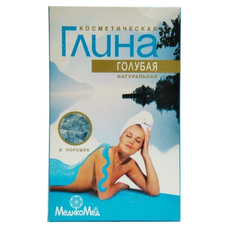 Глина голубая косметическая МедикоМед, 100г