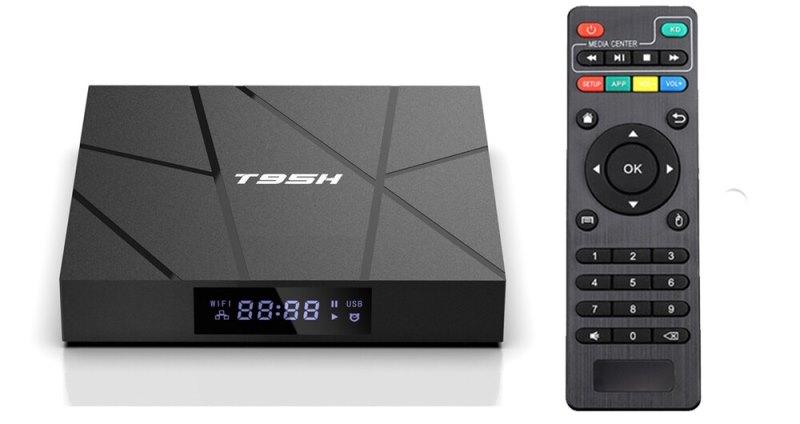 Андроид ТВ приставка T95H 1/8 GB H616