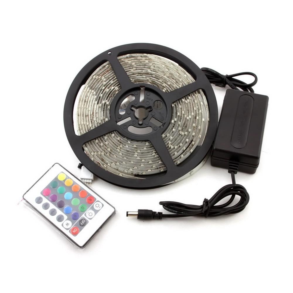 Светодиодная лента с пультом (блистер) фото