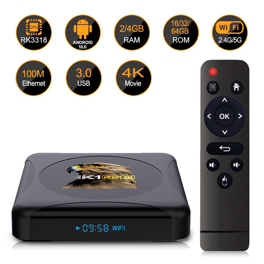 Андроид ТВ приставка OEM HK1 R1 mini 4/32 GB rk3318