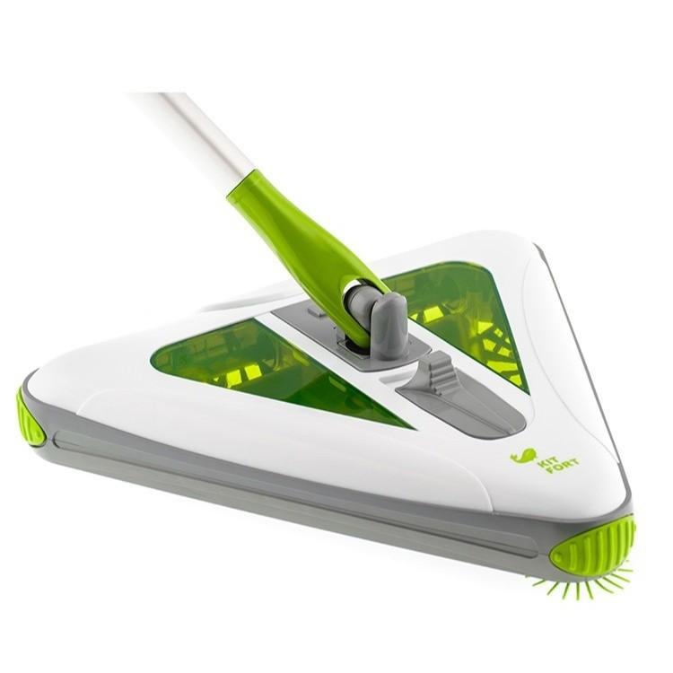 Электровеник Kitfort 508-КТ, зелёныйЭлектровеники<br>Электровеник Kitfort КТ-508 заменяет обычный веник и совок, облегчает и упрощает уборку дома.<br>
