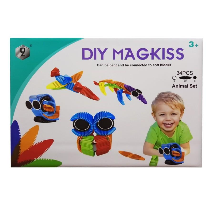 Гибкий магнитный конструктор Diy Magkiss