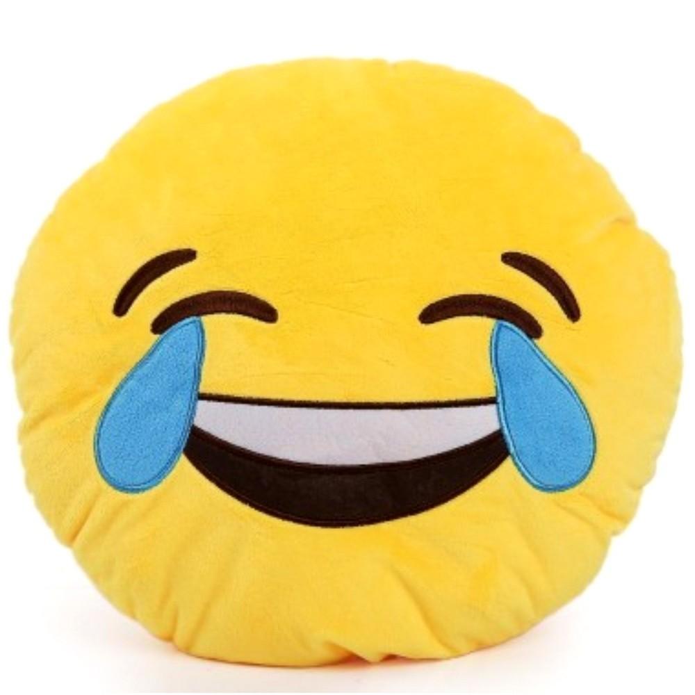 Подушка emoji (эмоджи) —  Смех до слез