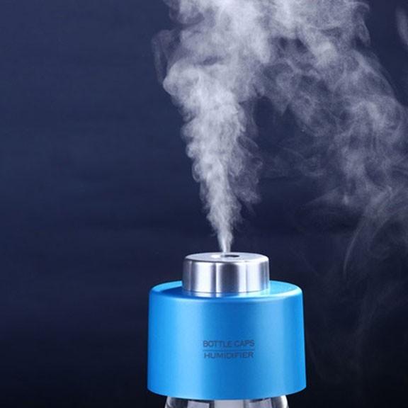 Увлажнитель воздуха на бутылку от USB, голубойУвлажнители воздуха<br>Если каждую зиму вы сталкиваетесь с сухим воздухом в квартире, то просто обязаны купить увлажнитель воздуха на бутылку от USB. Это миниатюрное устройство позволит Вам дышать полной грудью как в офисе или на работе, так и даже в автомобиле!<br>
