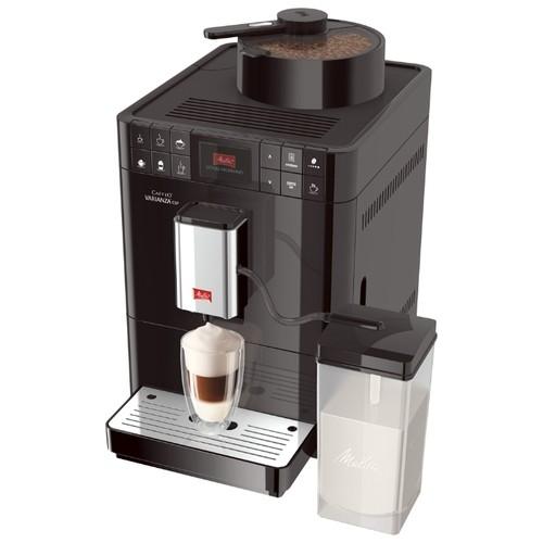 Кофемашина Caffeo F 580-100 Varianza CSP Melitta 21026Кофеварки и кофемашины<br>С новой полностью автоматической кофемашиной Melitta Caffeo F 58/0-100 Varianza CSP Stainlessпредлагает вам настоящую инновацию. Эксклюзивная функция My Bean Select\u00ae позволит выбирать вид кофейных зёрен от чашки к чашке в любое время, открывая для вас безграничное количество вкуса и аромата.<br>