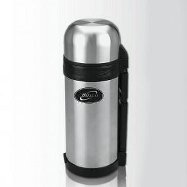 Термос 1,8 л. Biostal 1800NG-1Термосы и термоконтейнеры<br>Универсальный стальной термос 1,8 л. Biostal 1800NG-1 позволит вам в любых условиях насладиться не только горячим чаем или кофе, но и вкусным домашним обедом. С таким помощником вы не замерзнете нигде!<br>