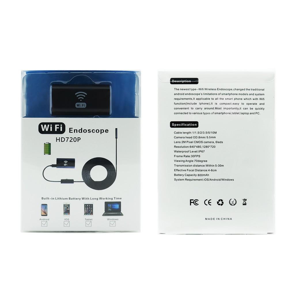 Эндоскоп Wi Fi Endoscope HD720P