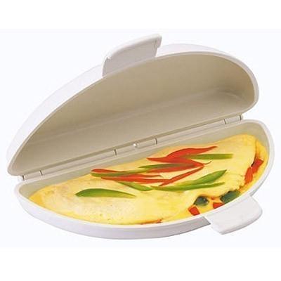 Омлетница для микроволновки Microwave Egg BoilerДля микроволновки<br>Настоящая находка для тех, кто любит омлет и ценит время. Омлетница для микроволновки «Английский завтрак» - специальный контейнер для микроволновой печи, в котором можно быстро приготовить омлет. В этом контейнере он пропечется со всех сторон равномерно, и Вам даже не придется следить за приготовлением блюда.<br>