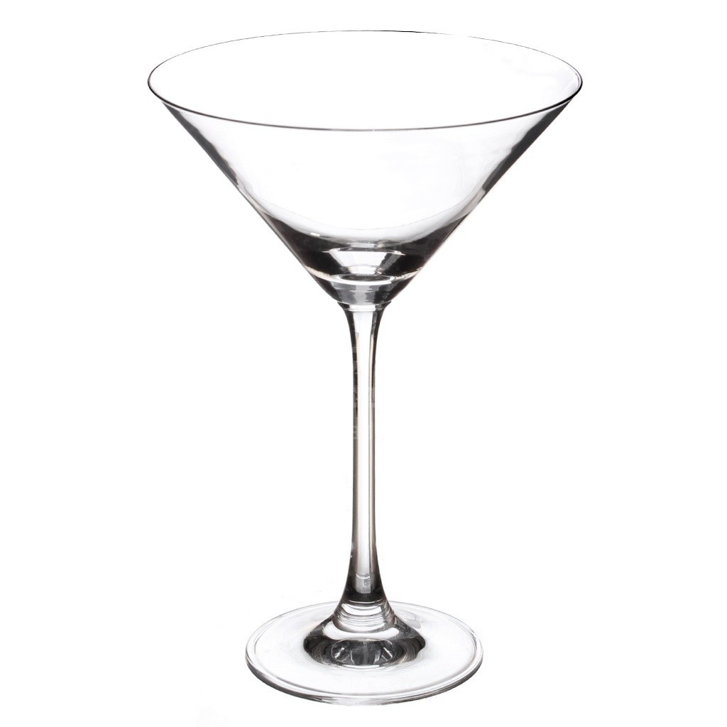 Набор бокалов для мартини 280 мл, хрустальное стекло, 6 шт FS30C28E351