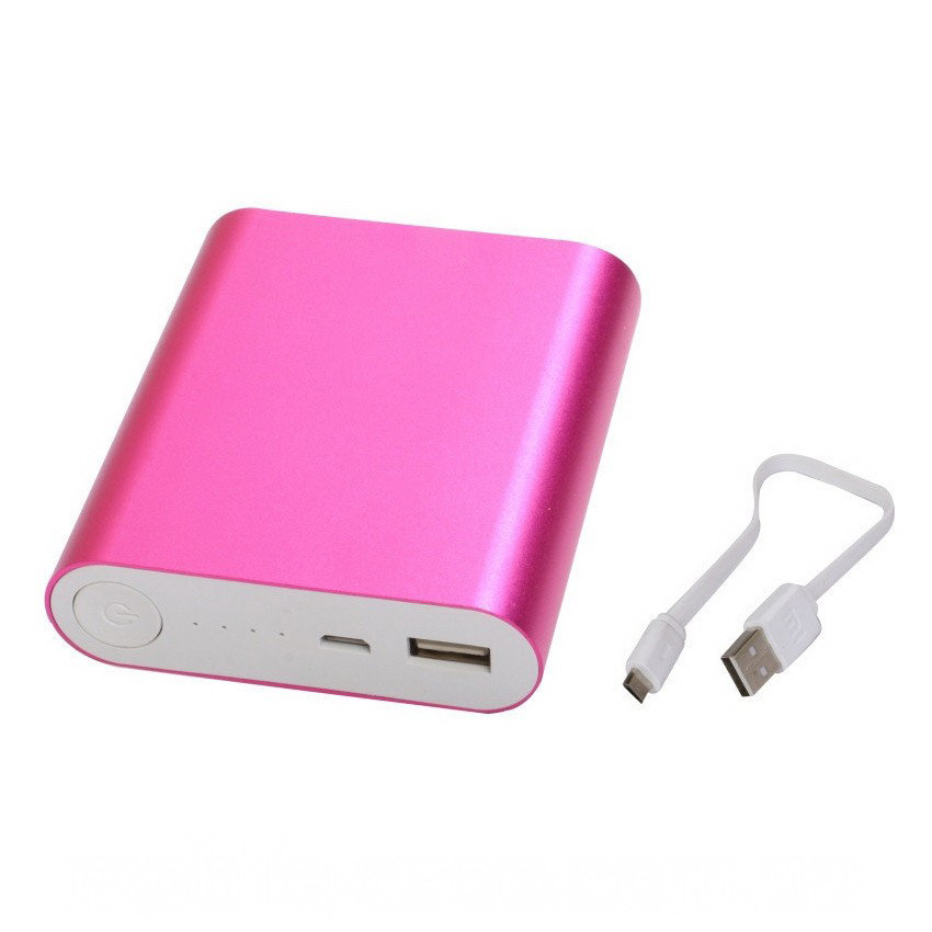 Power Bank 10400 mAh, розовый