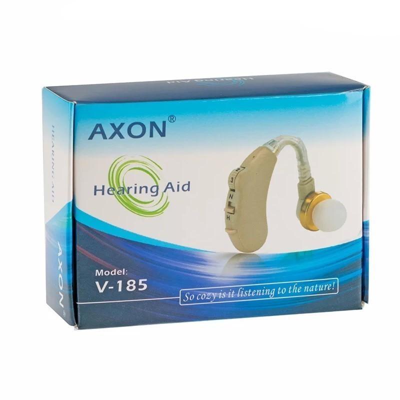 Слуховой аппарат AXON V-185 (усилитель звука заушный)