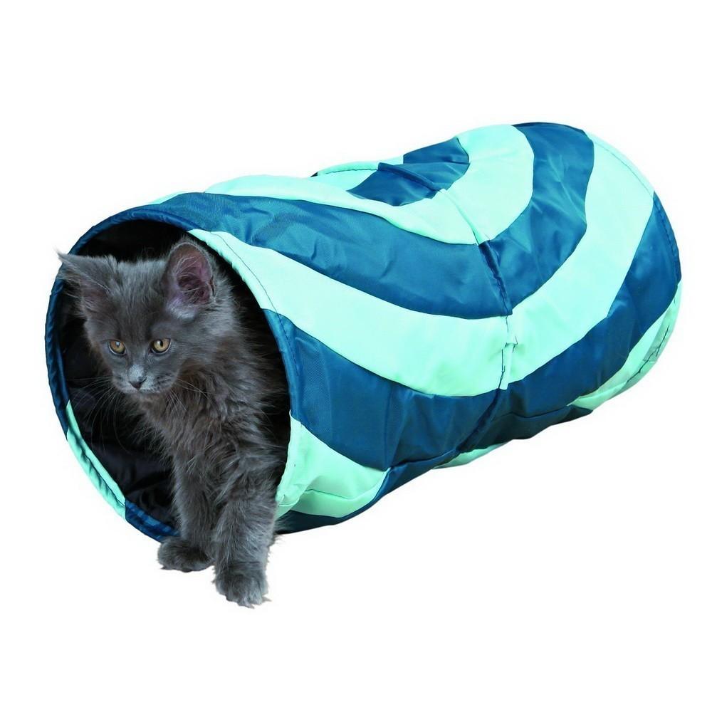 Тоннель Trixie для кошки, шуршащий, 50 смОстальное<br>Ищите оригинальное развлечение для своей кошки? Обязательно обратите внимание на шуршащий тоннель  Trixie 50 см. Внутри нейлоновых стенок расположен специальный материал, который шуршит и привлекает интерес у четвероногого друга.<br>