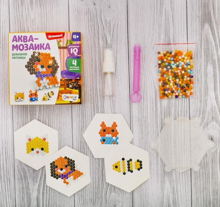 Купить Аквамозаика для детей - Домашние питомцы, Развивающие игрушки