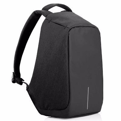 Умный рюкзак Антивор, черный тканьСумки и рюкзаки<br>Если вы выбираете комфорт в любых условиях и не готовы постоянно переживать, что вор в людном месте вытащит кошелек из вашей сумки, то Посмотрите.умный рюкзак-антивор. Аксессуар имеет множество оригинальных секретов, благодаря которым злоумышленникам не добраться до ваших вещей!<br>
