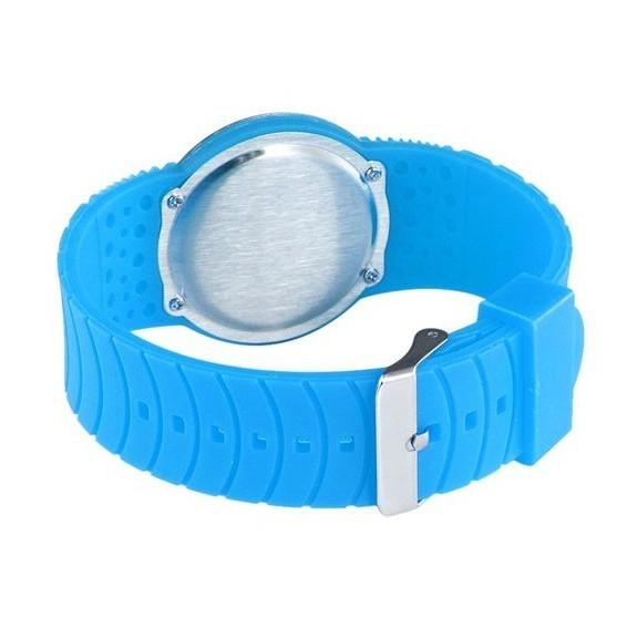 Ультратонкие силиконовые LED часы Nexer G1218 синиеСпортивные LED часы<br>Сенсорные часы в минималистском дизайне. Часы имеют стильный вид, и с той же эффектностью показывают время. Корпус часов: выполнен из нержавеющего сплава, защищен от брызг<br>