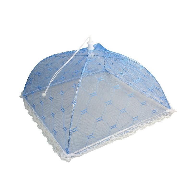 Защитный зонт для продуктов - Кружево, 32*32*20 см, цвет микс