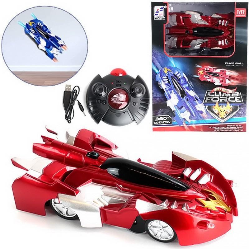 Антигравитационная машинка Wall Racer в ассортименте, Красный, Электронные игрушки  - купить со скидкой