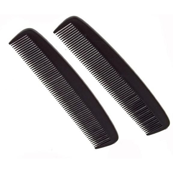 Расческа простая №2, цвет черныйРасчески<br>Мужская расческа - самый первый в истории парикмахерский аксессуар. И все-таки, как узнать, какая расческа подходит для ваших волос? По своим характеристикам она должна быть легкой, прочной, надежной и, конечно, обладать антистатическими свойствами, не электризоваться.<br>