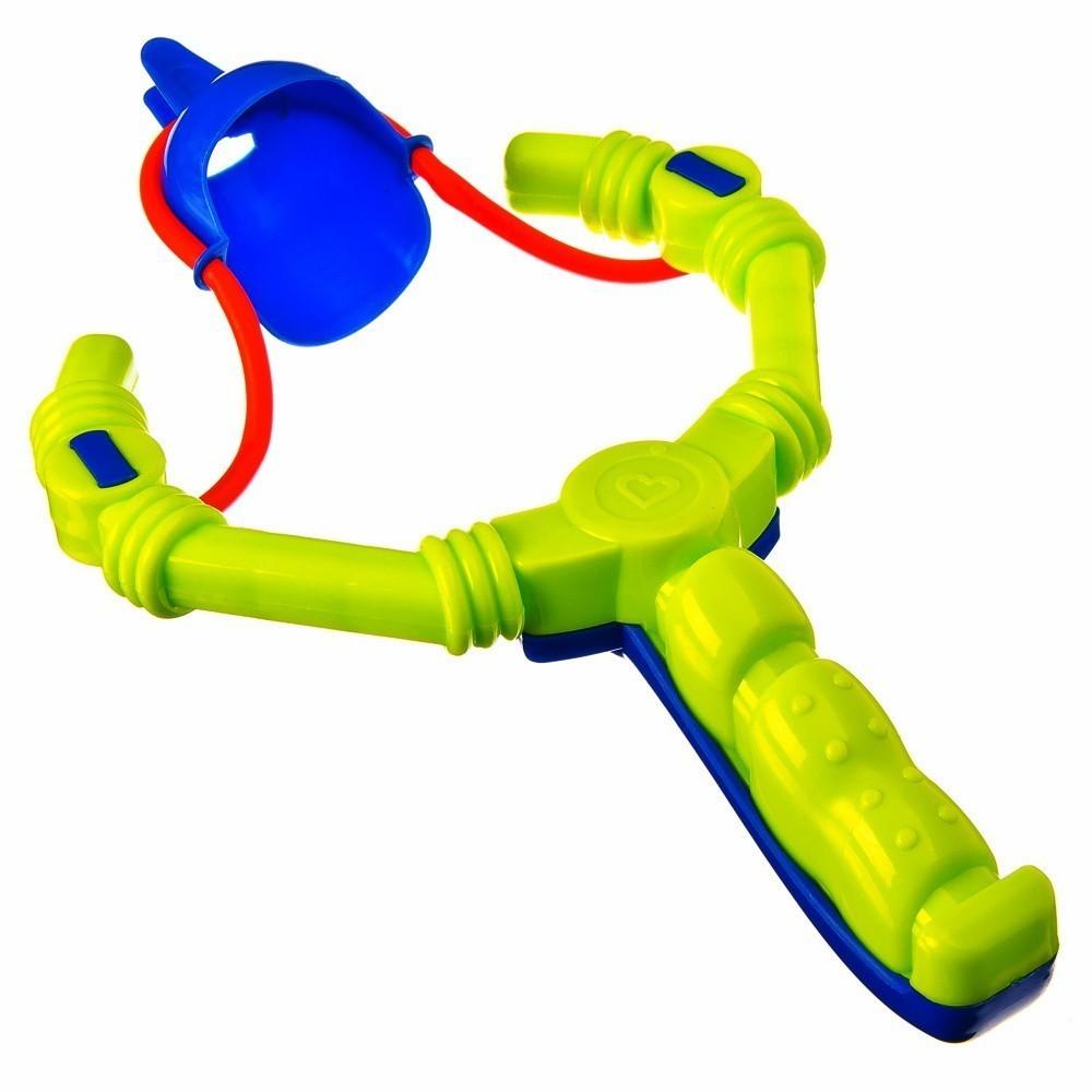 Снежкомет-рогаткаПодвижные игры<br>Снежкомет-рогатка станет настоящей находкой для активного зимнего отдыха ваших детей. Если вы хотите разнообразить прогулки и повеселиться от души.<br>