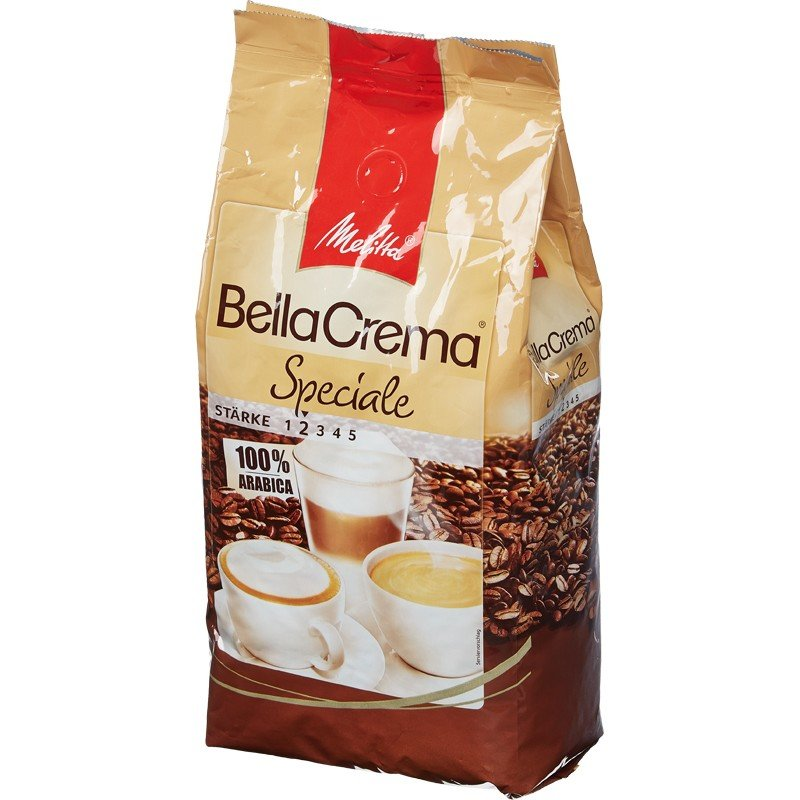 Кофе в зернах «BC Speciale»,1кг Melitta 1850Кофе<br>Кофе в зернах Melitta BC Speciale — идеально подходит для крепких кофейных напитков с молоком. Специальная смесь сортов кофе придает терпкий и сильный вкус, который придется по вкусу истинным ценителям кофе.<br>