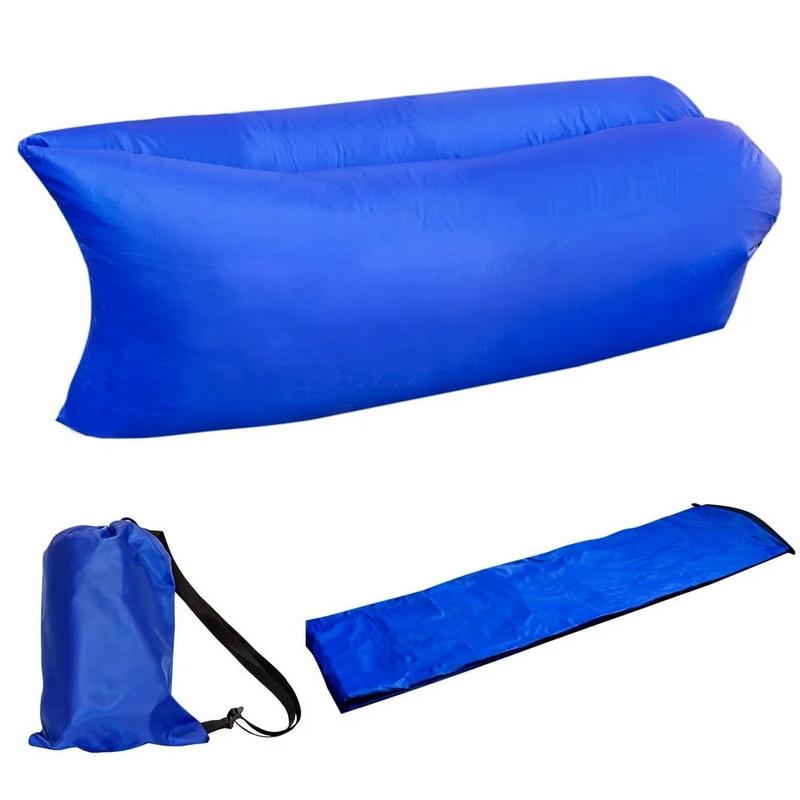 Надувной диван - гамак Ламзак, синий 200-220 фото