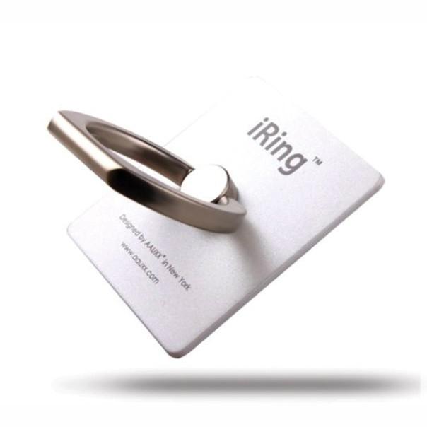 iRing - кольцо держатель для телефона, жемчужныйПодставки и крепления<br>Если вы являетесь обладателем гаджета большого размера, то знаете, сколько неудобств бывает с подобным аксессуаром. Как управлять устройством одной рукой в самых разных ситуациях? Вам поможет стильное, надежное и удобное iRing - кольцо держатель для телефона. Спешите купить хит сезона по суперцене в интернет магазине Мелеон!<br>