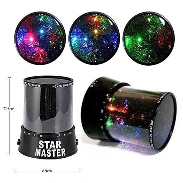Ночник-проектор звездного неба Star Master с адаптером от MELEON