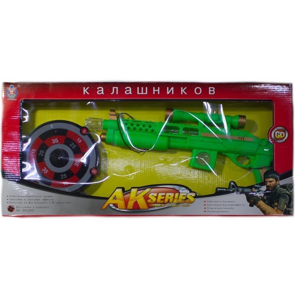 Детская игрушка — Автомат Калашников, электромеханический