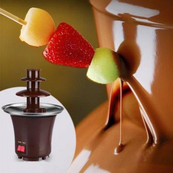 Шоколадный фонтан Chocolate Fondue Fountain Mini от MELEON