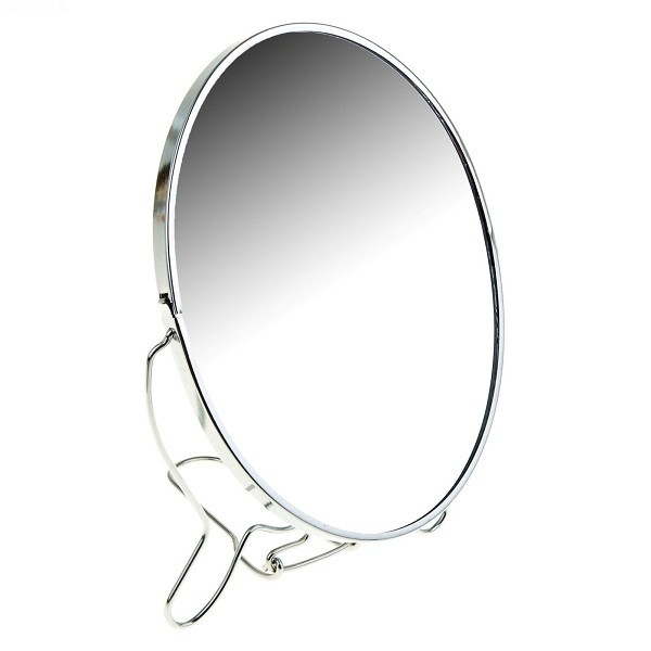 Зеркало Mirror-639, металл, цветное, 2-х сторонее круглое, размер-7