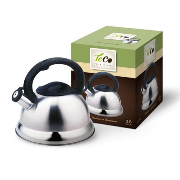 Чайник TECO TC-104Чайники металлические<br>Что может быть лучше посиделок с кружкой чая или кофе. Вы тоже так считаете? Тогда вы должны оценить по достоинству Teco TC-104. Это необходимая вещь для любого чаевника или кофемана.<br>