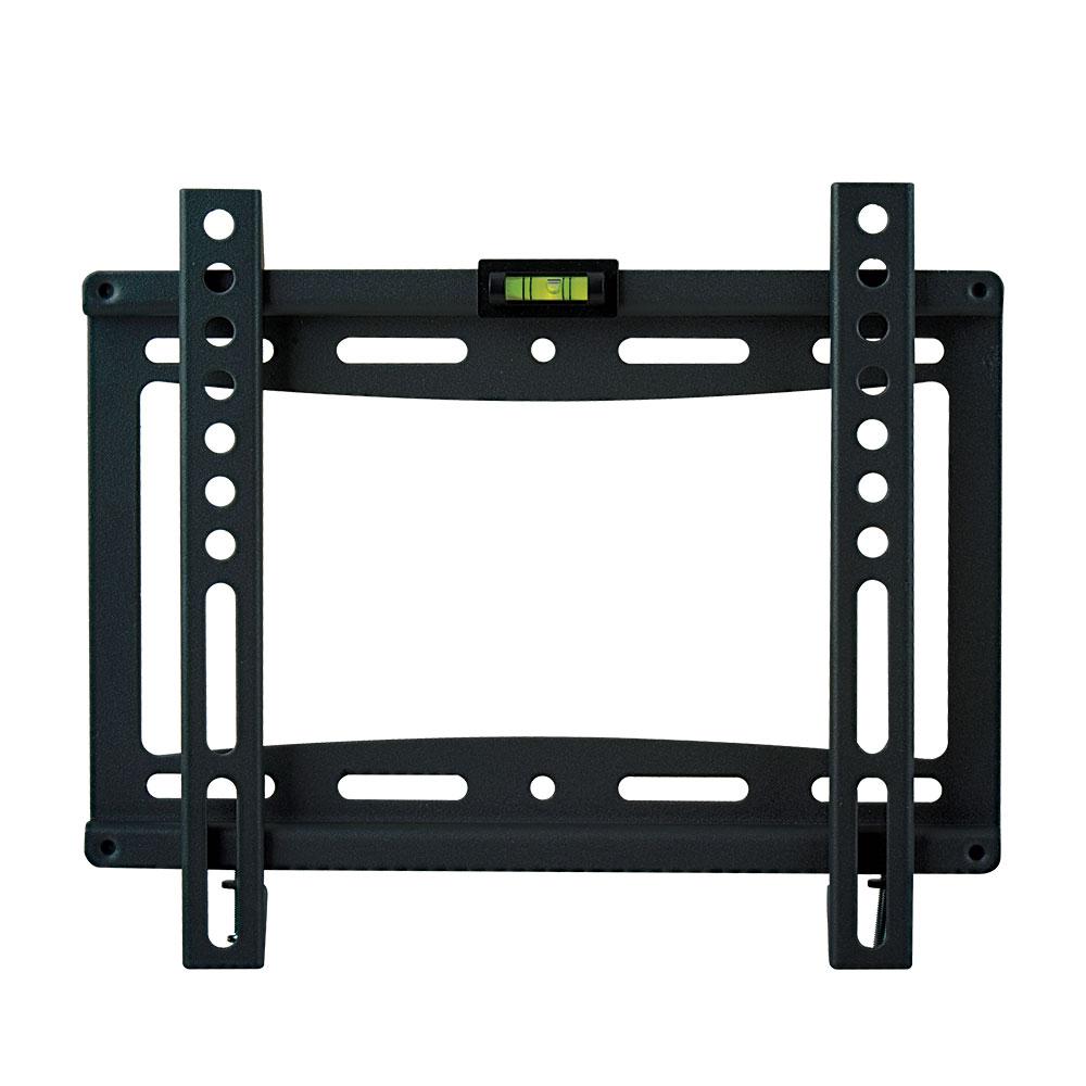 Кронштейн kromax 5-IDEAL IDEAL-5 blackКронштейны<br>Фиксированный кронштейн для LED/LCD и плазменных телевизоров с диагональю экрана от 15 до 47 дюймов (38-120 см) и максимальным весом 40 кг. Ультратонкое крепление позволит расположить ваш ТВ максимально близко к стене, всего в 20 мм. Простой монтаж, в три шага, а благодаря наличию водяного уровня вы с легкостью сможете повесить ТВ идеально ровно.<br>