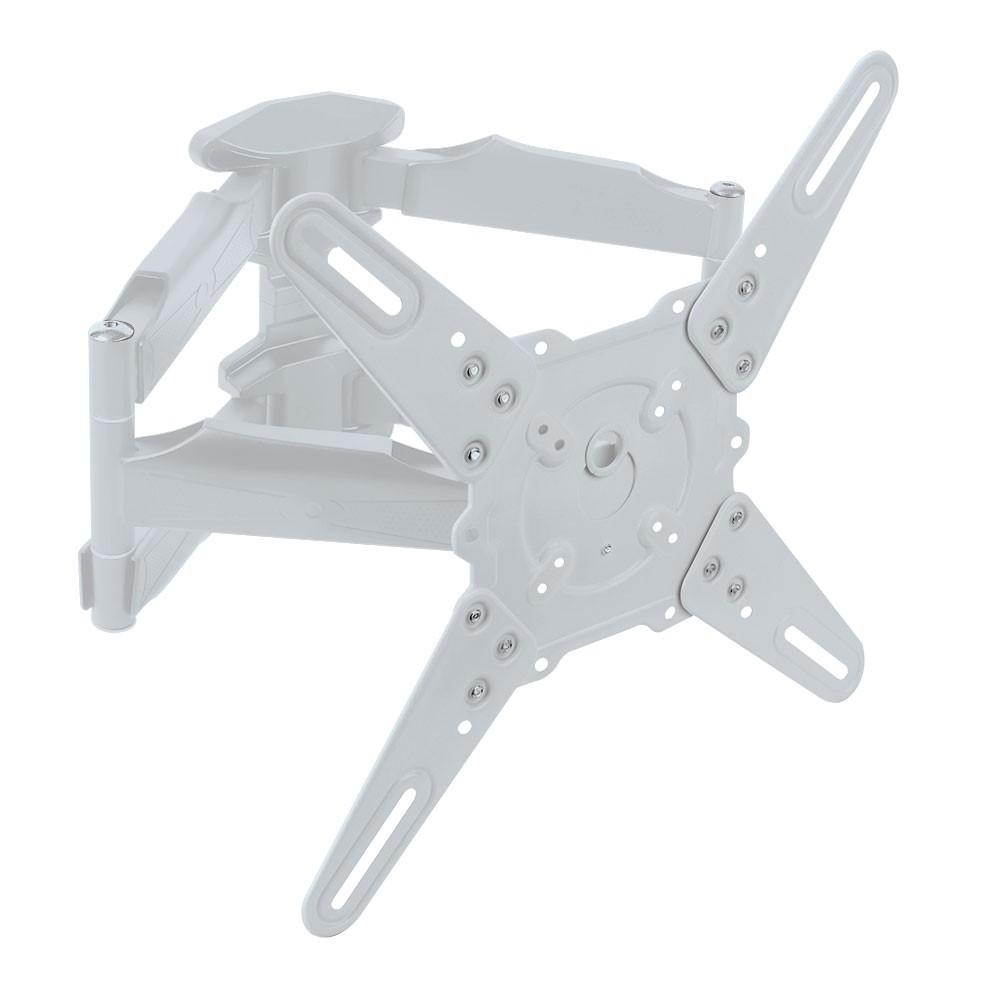 Кронштейн Kromax 45-ATLANTIS whiteКронштейны<br>Kromax Atlantis-45 - это настенный наклонно-поворотный кронштейн для установки и монтажа вашего ТВ.<br>