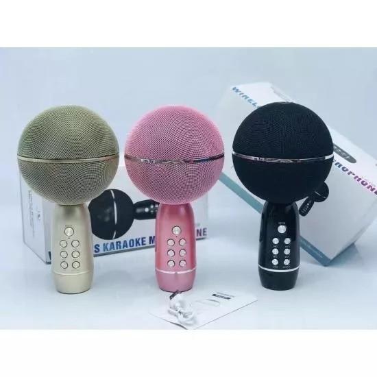 Беспроводной караоке микрофон Wireless Karaoke Microphone YS-08, черный