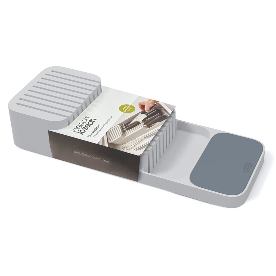 Органайзер для ножей Joseph Joseph DrawerStore компактный, белый
