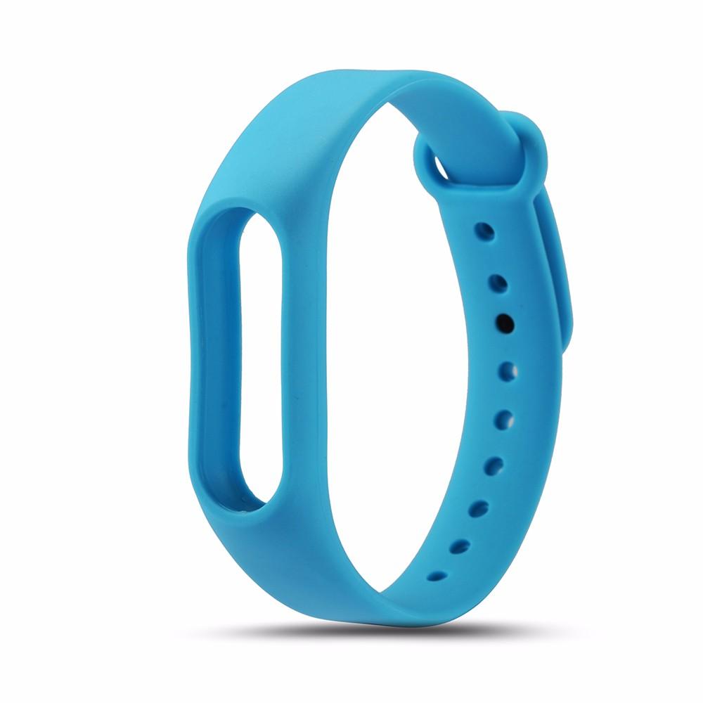 Ремешок для фитнес браслета Xiaomi Mi Band 2 Strap, голубой