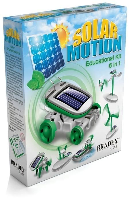 Купить Конструктор BRADEX DE0066 На солнечных батареях 6 в 1, Конструкторы