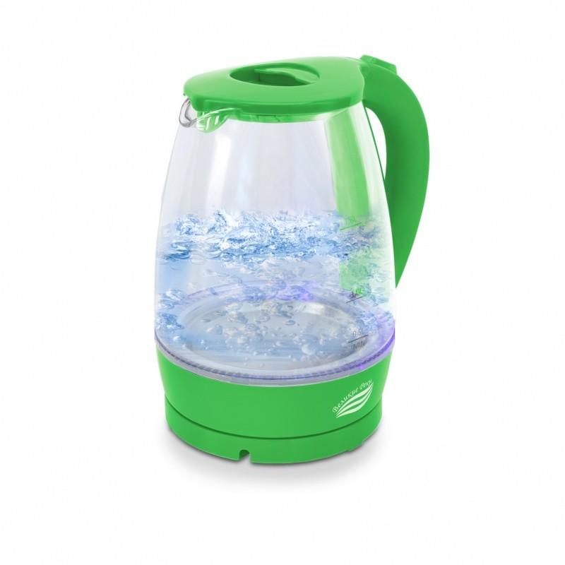 Чайник электрический Великие Реки Дон-1 салатовый