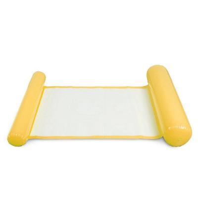 Складной плавающий гамак для воды - Floating Bed, жёлтый фото