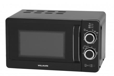 Микроволновая печь WILLMARK WMO-232MH (20л, 700Вт, механ. ПУ, ручка д/отк. двери, черная)