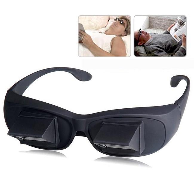 Очки для чтения лежа - большиеОчки для чтения лежа<br>Любите читать перед сном, но не можете позволить себе такую роскошь из-за боли в шее? Держать голову ровно и наслаждаться процессом вам позволят революционные очки для чтения лежа (большие).<br>