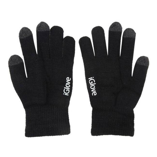 Купить со скидкой Перчатки iGlove для работы с емкостными экранами - черный