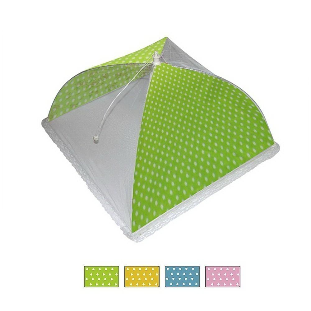 Защитный зонт для продуктов - Горох, 32*32*20 см, цвет микс