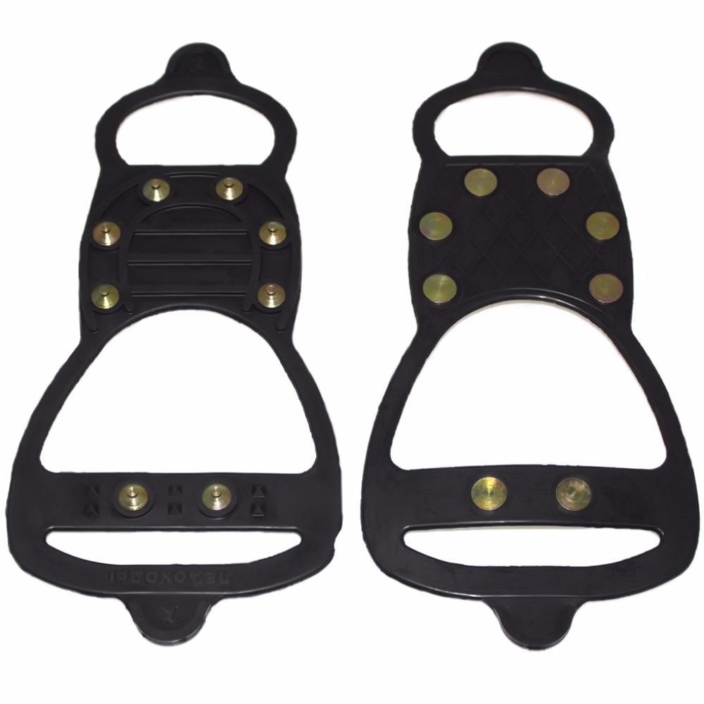 Ледоходы Актив 8+8 шипов (дополнительно 2 шипа на пятке)Накладки на обувь Антигололед<br>Приближается зима. А вместе с ней – не только праздники и подарки, но и холода, скользкие дороги и коварные падения. Как обеспечить себе максимум комфорта на улице?  Как не провести ползимы дома в с ногой в гипсе? Вам помогут ледоходы Актив 8+8 шипов (дополнительно 2 шипа на пятке). Аксессуар фиксируется на любой обуви, а главное – позволяет вам чувствовать себя уверенно даже на сплошном льду!<br>