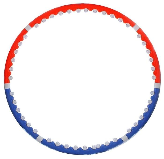 Массажный обруч BRADEX Премиум SF0001 100 см синий/оранжевый