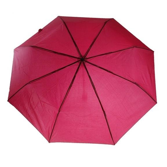 Зонт складной механический — красный