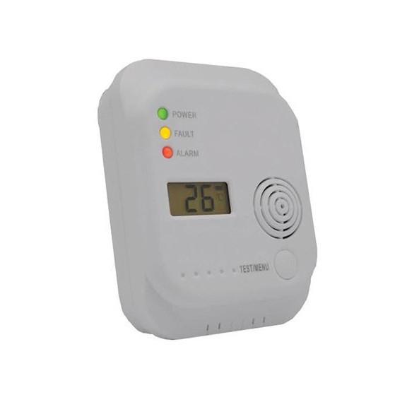 Датчик угарного газа с сигнализациейДетектор утечки газов<br>Если вы хотите обезопасить жизнь своих близких от нестандартных ситуаций, то вы просто обязаны купить датчик угарного газа с сигнализацией. Это устройство будет постоянно контролировать содержание газов в воздухе. Так только концентрация достигнет опасного уровня, то вы услышите сигнализацию и сможете предотвратить трагедию.<br>