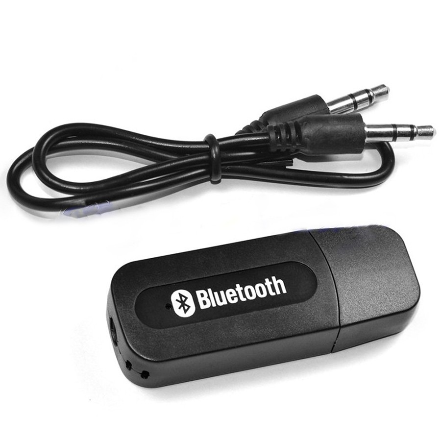 Bluetooth адаптер для аудио-входа — музыка из смартфона