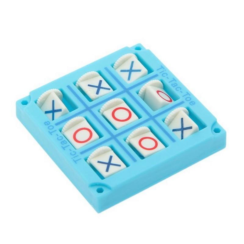 Настольная игра - Крестики-нолики, цвет микс